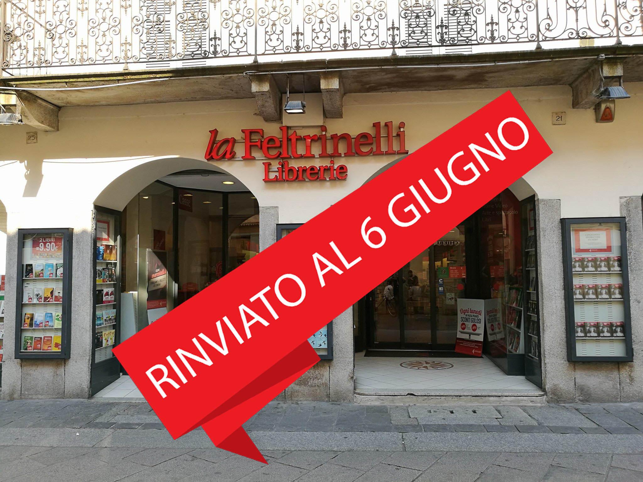 Elysa-Fazzino-alla-Libreria-Feltrinelli-di-Pavia 6 giugno 2020